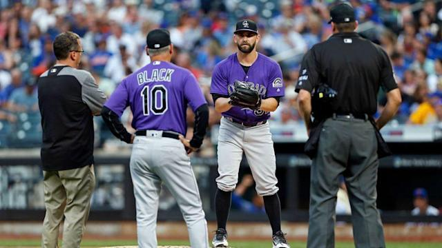 Tyler Chatwood's numbers have been seriously affected by playing at Coors Field.