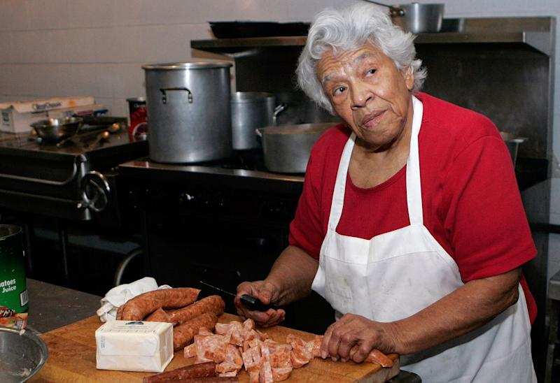 Legendary New Orleans chef Leah Chase, who fed generations of New Orleanians and tourists alike at Dooky Chase's restaurant, died on June 1, 2019. She was 96.