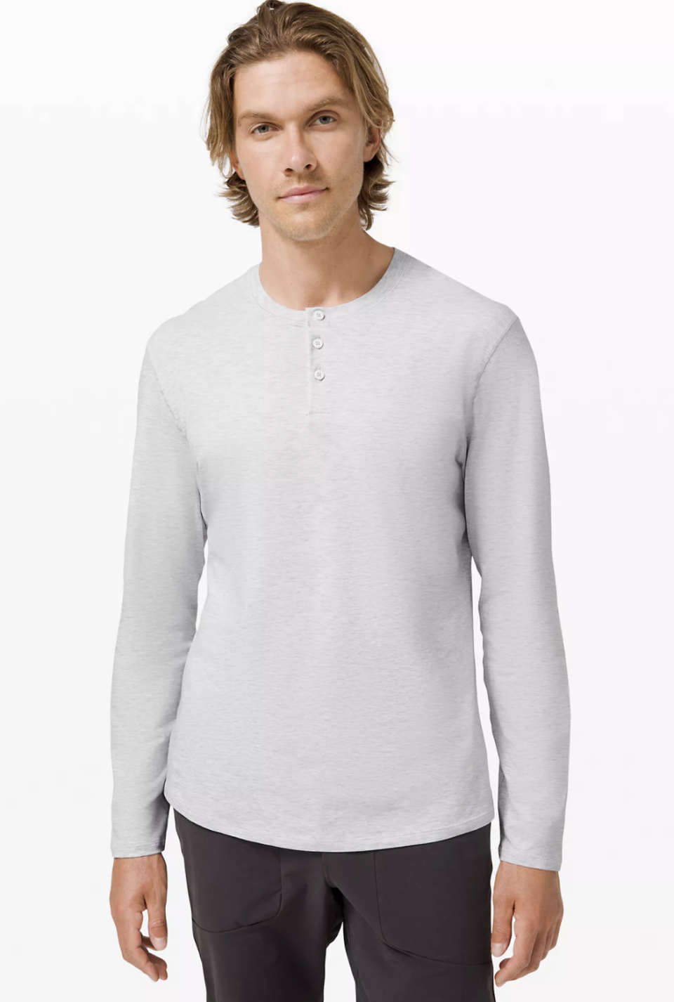 5 Year Long Sleeve Henley - Lululemon, $74.