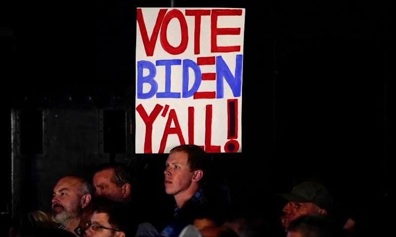 Beto O'Rourke has pitched his case to Joe Biden that Texas voters are there for the picking.