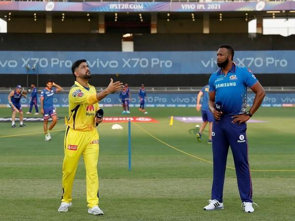 CSK played MI in the first game of the second half of the IPL in UAE. (Photo/SPORTZPICS for BCCI)