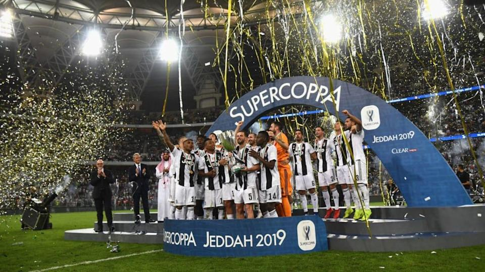 La Juventus vince la Supercoppa Italiana 2018 | Claudio Villa/Getty Images