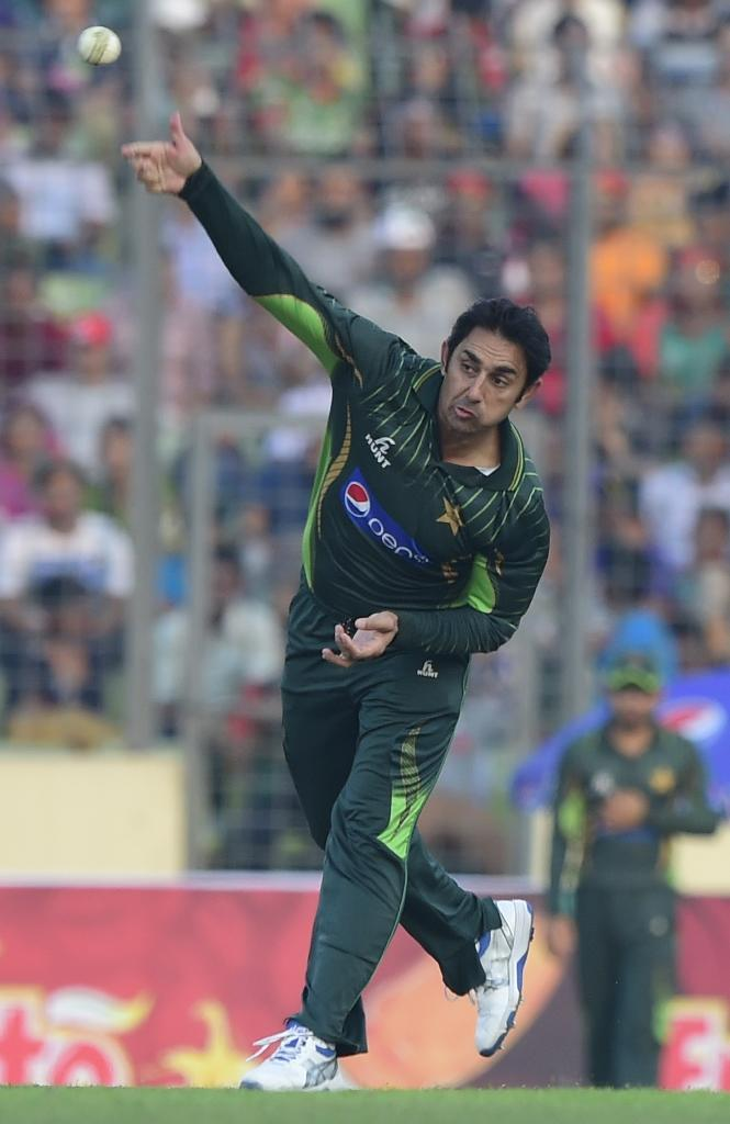 Saeed Ajmal has faced a tough time since returning to cricket from a five-month suspension after his bowling action was found to be illegal by the International Cricket Council last year (AFP Photo/Munir Uz Zaman)