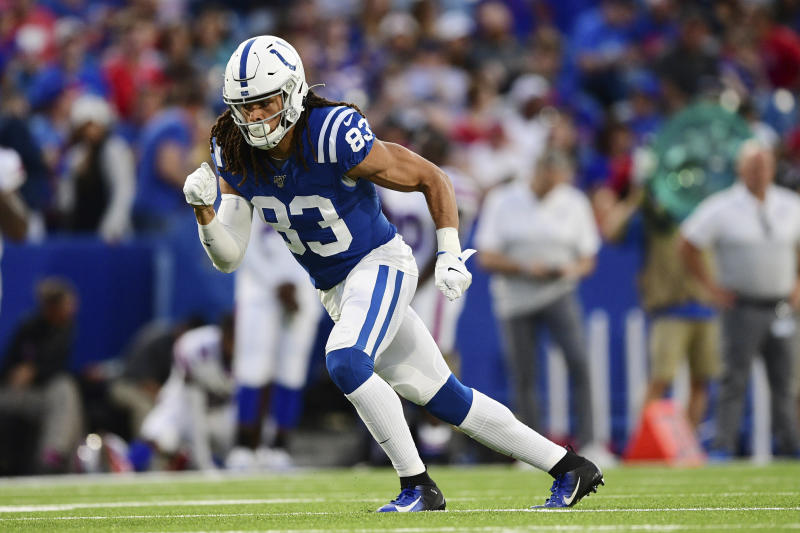 Colts brought in WR Krishawn Hogan for a workout