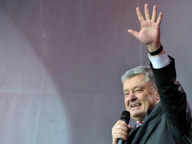 Former Ukrainian president Petro Poroshenko has stayed in politics