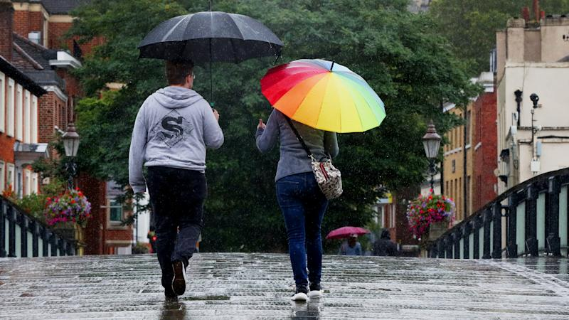 Storm Francis due to hit the UK with rain and wind expected