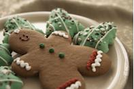 """<p>Every year, without fail, there are New Yorkers cooking up a Christmas gingerbread storm. </p><p>Get the <a href=""""https://www.delish.com/cooking/recipe-ideas/a50468/gingerbread-cookies-recipe/"""" rel=""""nofollow noopener"""" target=""""_blank"""" data-ylk=""""slk:recipe"""" class=""""link rapid-noclick-resp"""">recipe</a>.</p>"""