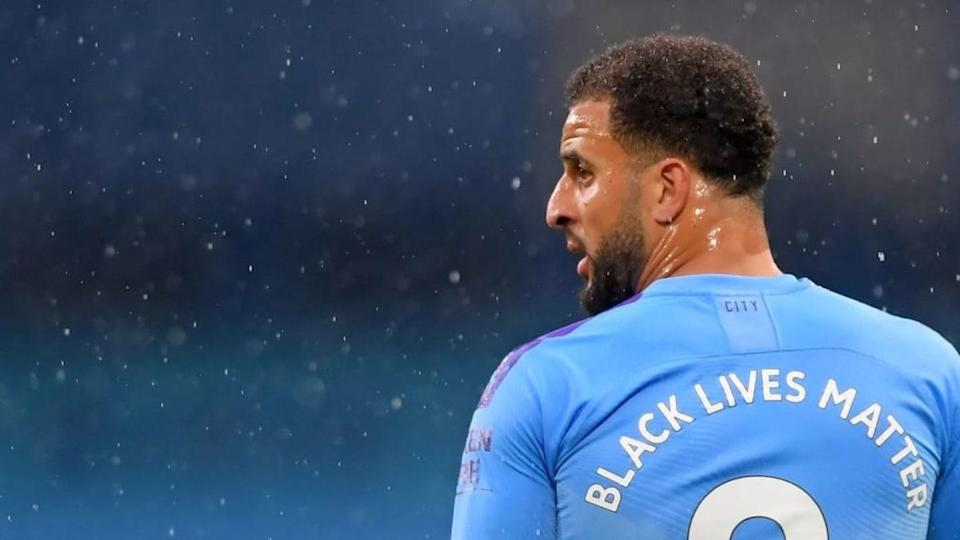Kyle Walker, lateral derecho de Inglaterra y Manchester Cuity | LAURENCE GRIFFITHS/Getty Images
