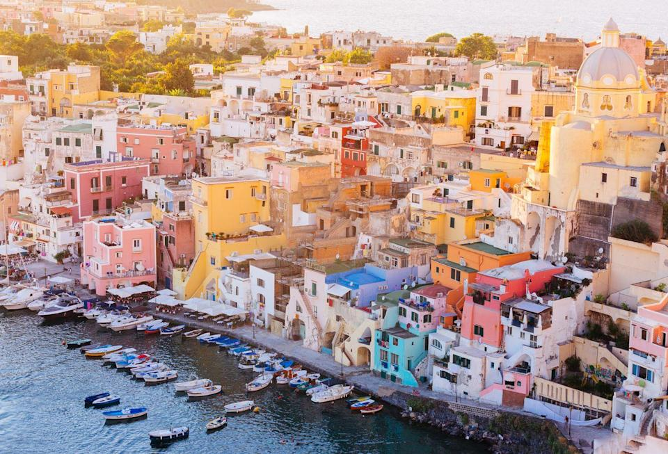 <p>Also off the coast of Naples, Ischia is the Amalfi destination for you if you want to experience an Italian island without <em>quite </em>as many hoards of people as Capri. It's a favorite for its unpretentious personality, beautiful ancient castles, and of course, that world famous spaghetti. </p>
