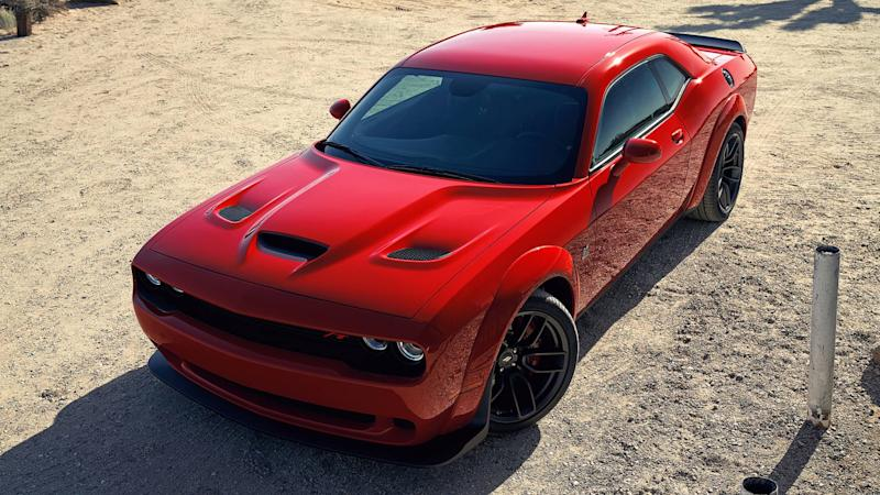 797-HP Dodge Challenger Hellcat Redeye Ushers In Updated Range