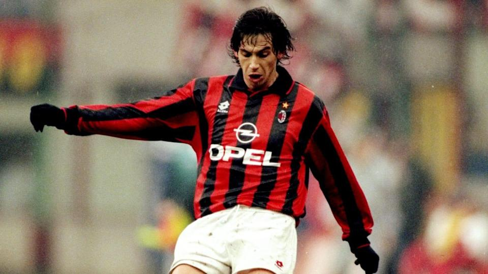 Demetrio Albertini con la maglia del Milan | Getty Images/Getty Images