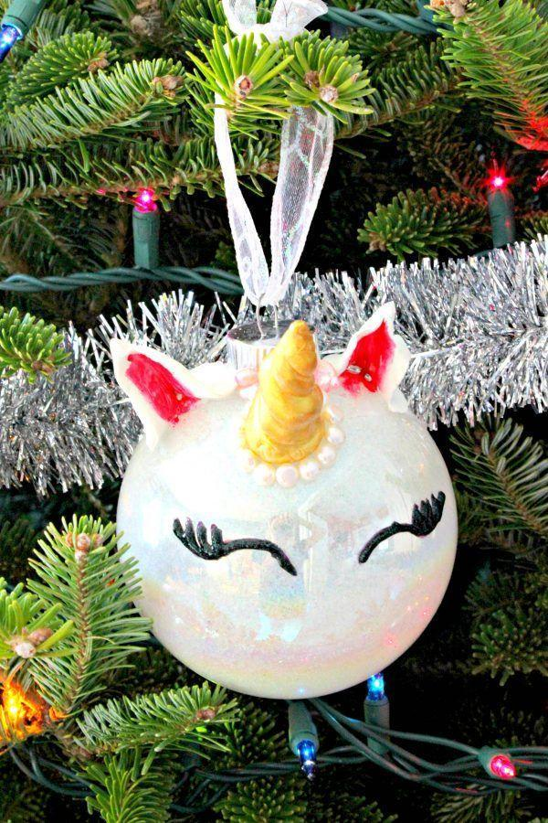 "<p>Making the eyelashes extra bold will add a touch of sass.</p><p><strong>Get the tutorial at <a href=""https://cmongetcrafty.com/diy-unicorn-ornament/"" rel=""nofollow noopener"" target=""_blank"" data-ylk=""slk:C'mon Get Crafty"" class=""link rapid-noclick-resp"">C'mon Get Crafty</a>.</strong></p><p><strong><a class=""link rapid-noclick-resp"" href=""https://www.amazon.com/Polyform-Sculpey-Original-Polymer-1-75-Pound/dp/B0016N6CMU?tag=syn-yahoo-20&ascsubtag=%5Bartid%7C10050.g.23489709%5Bsrc%7Cyahoo-us"" rel=""nofollow noopener"" target=""_blank"" data-ylk=""slk:SHOP CLAY"">SHOP CLAY</a><br></strong></p>"