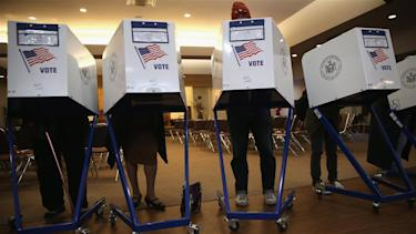 Voters will take to the polls Tuesday, November 4. Photo: Getty.