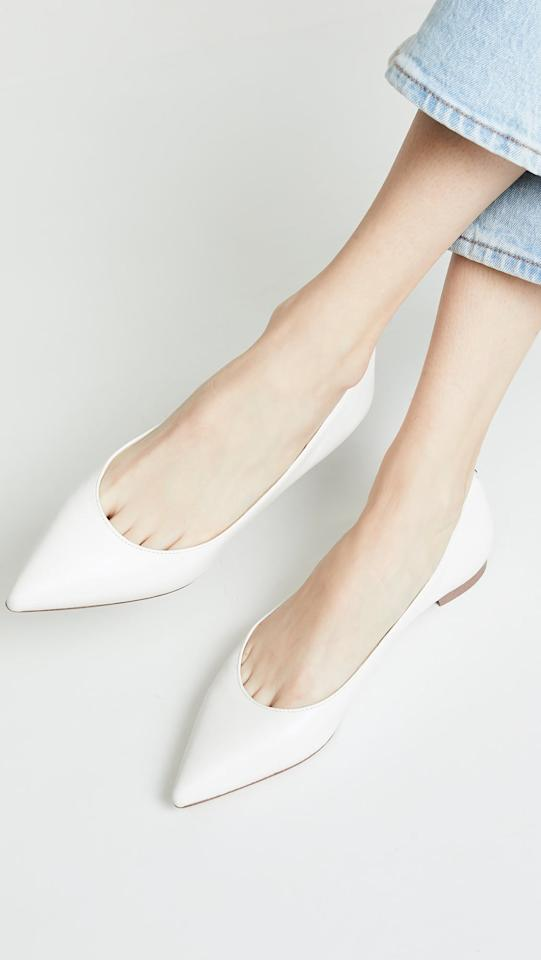 "<p>You can rewear these <a href=""https://www.popsugar.com/buy/Sam%20Edelman%20Sally%20Flats-471056?p_name=Sam%20Edelman%20Sally%20Flats&retailer=shopbop.com&price=100&evar1=fab%3Aus&evar9=44539774&evar98=https%3A%2F%2Fwww.popsugar.com%2Ffashion%2Fphoto-gallery%2F44539774%2Fimage%2F44539781%2FSam-Edelman-Sally-Flats&list1=shopping%2Cwedding%2Ckate%20spade%2Cshoes%2Cflats&prop13=mobile&pdata=1"" rel=""nofollow"" data-shoppable-link=""1"" target=""_blank"" class=""ga-track"" data-ga-category=""Related"" data-ga-label=""https://www.shopbop.com/sally-flat-sam-edelman/vp/v=1/1585578968.htm"" data-ga-action=""In-Line Links"">Sam Edelman Sally Flats </a> ($100) again and again.</p>"