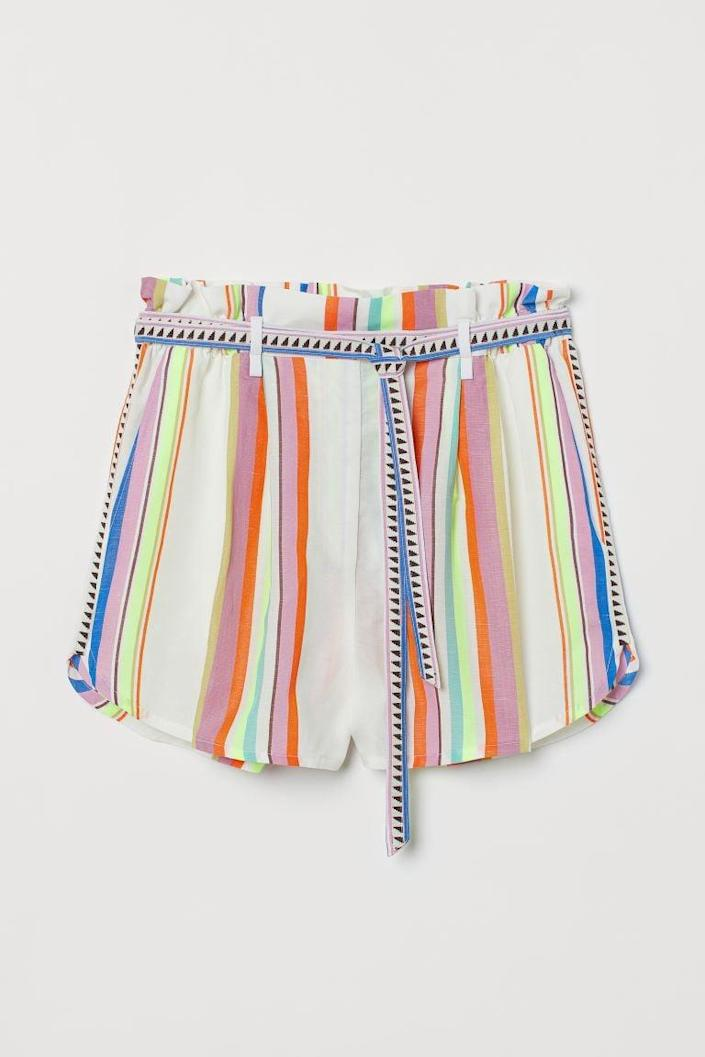 <p>These <span>Lyocell-blend Shorts</span> ($25) will take you from a casual park hang to a spontaneous pool party.</p>