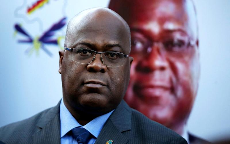 Felix Tshisekedi, leader of Congolese main opposition party, the UDPS - REUTERS