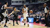 <p>The 905 opened the game firing first to an 8-3 lead, but trailed 28-18 by the end of the first quarter. (Photo courtesy: Trung Ho) </p>