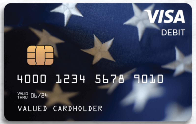 The federal government is sending 4 million Americans a debit card loaded with their coronavirus stimulus check funds.
