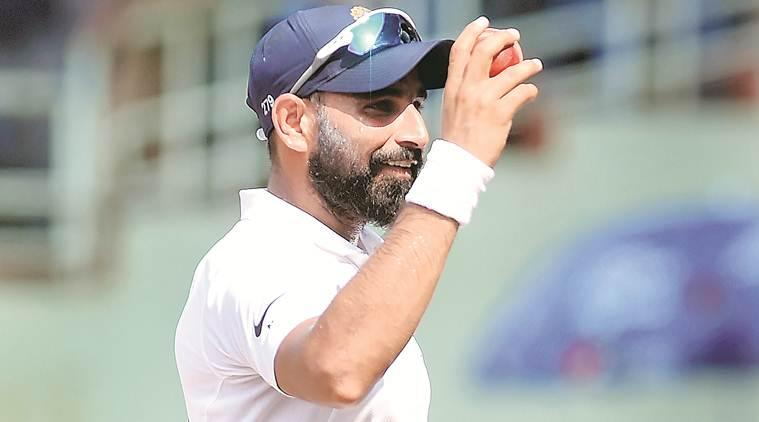 mohammed shami, mohammed shami bowling against SA, mohammed shami vs South Africa, india vs south africa, india vs south africa 1st test, india vs south africa match, india cricket match, indian express sports, indian express cricket