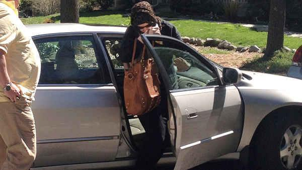 <p>FBI agents investigating the Boston Marathon bombings have visited the Rhode Island home of Tamerlan Tsarnaev's in-laws and carried away several bags.</p>