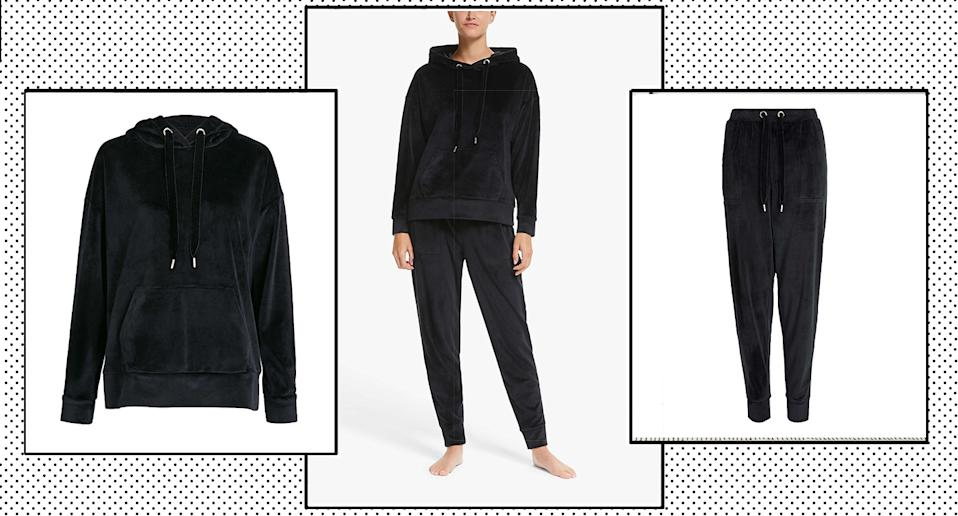 John Lewis & Partners has released a velour tracksuit, and we predict it will sell out fast.  (John Lewis)