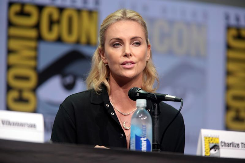 Charlize Theron at Comic Con