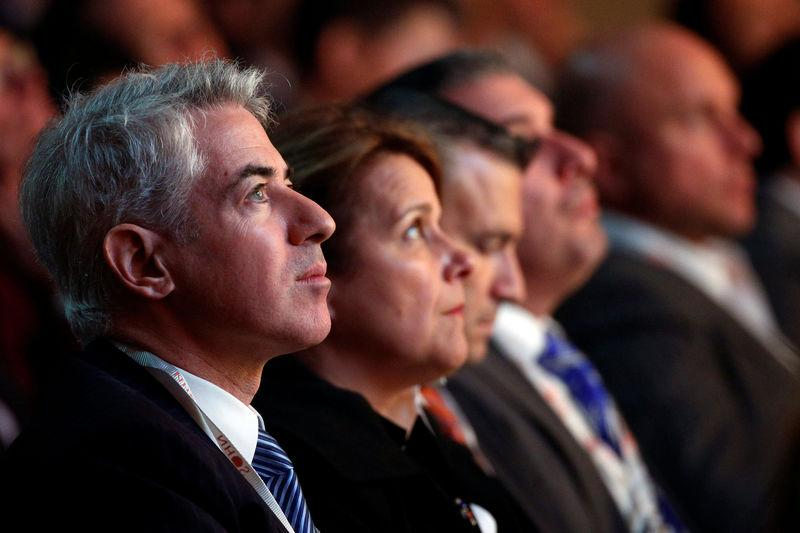 William Ackman, founder and CEO of hedge fund Pershing Square Capital Management, attends the Sohn Investment Conference in New York