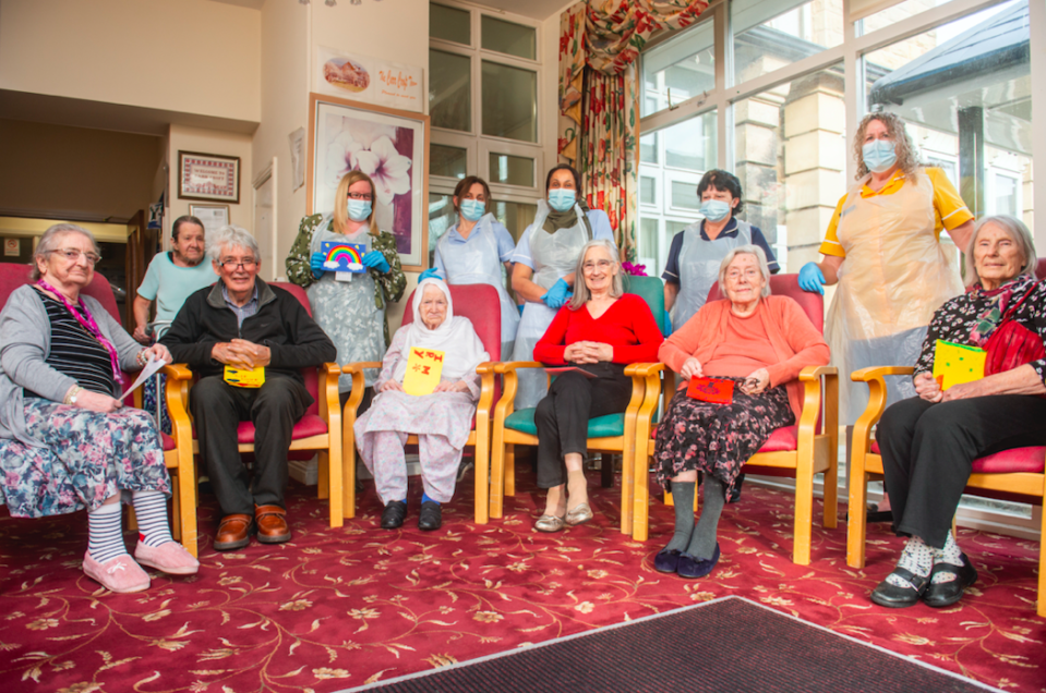Residents at the Carr Croft care home have managed to avoid contracting coronavirus. (SWNS)