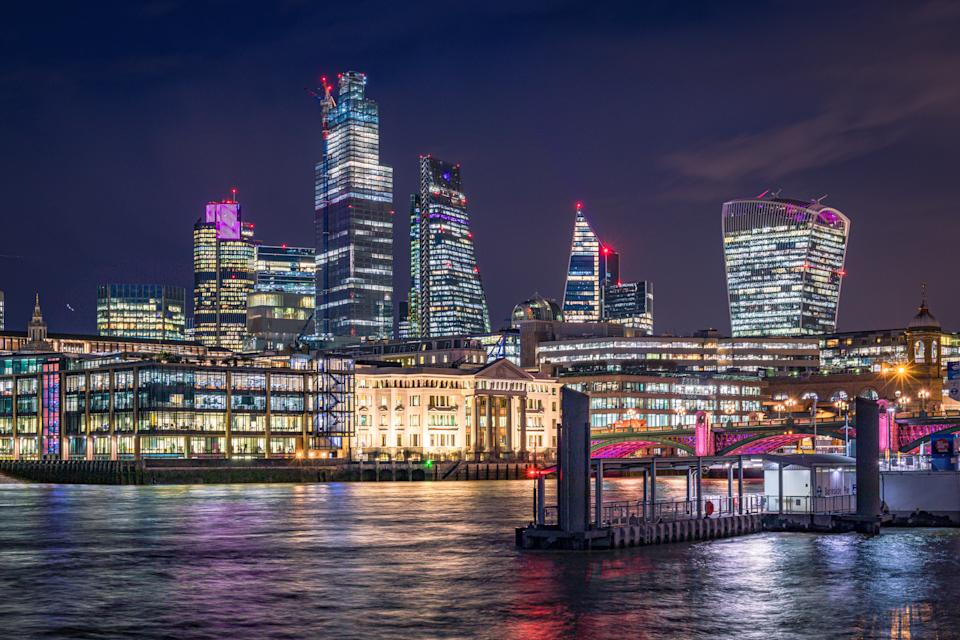 The UK is the world's top net exporter of financial services, above the US and Switzerland. Photo: Getty Images