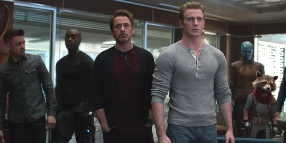 """The remaining Avengers confront Thanos in the new """"Endgame"""" teaser."""
