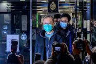 Pro-democracy activist Benny Tai said he was shocked by the scale of the police swoop
