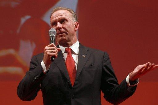 Germany legend Karl-Heinz Rummenigge