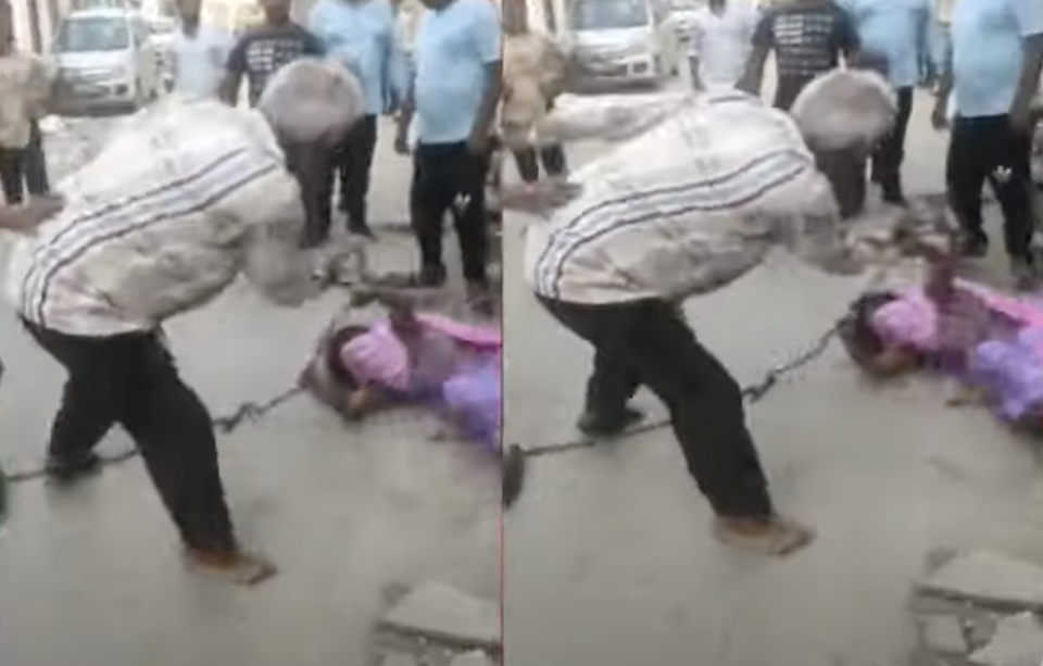 Man beats up widowed daughter-in-law, tears off her clothes