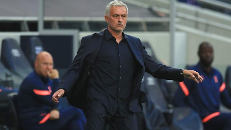 Mourinho slams 'lazy' Tottenham players and questions mentality after Everton defeat