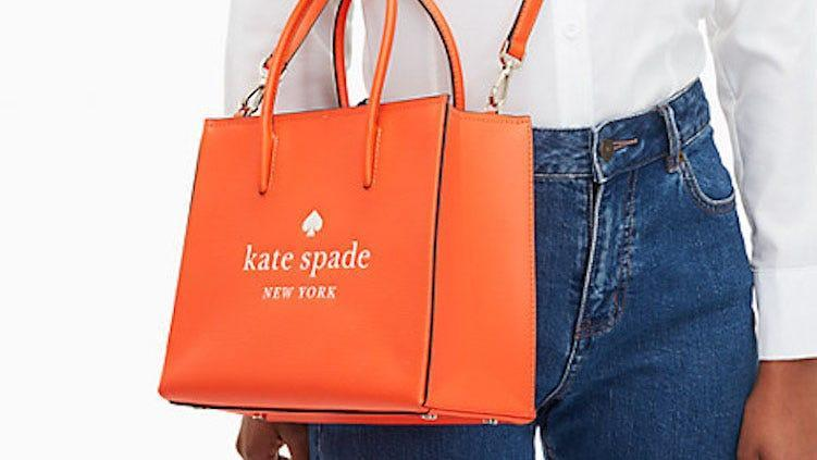 Punch up your wardrobe with this colorful bag.
