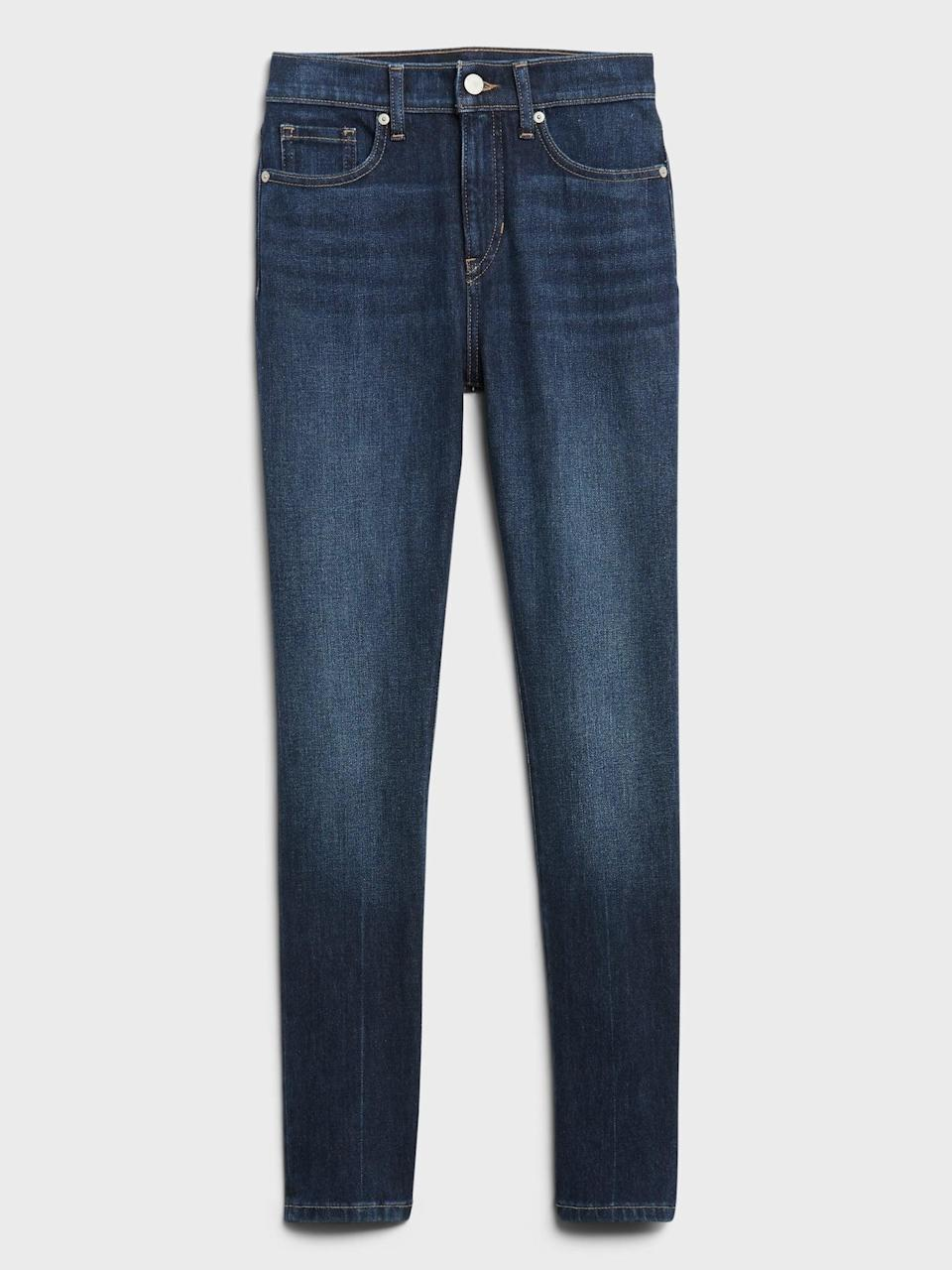 <p>These <span>Banana Republic High-Rise Slim Jean</span> ($68, originally $99) are meant to smooth and flatter your body.</p>