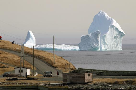 Icebergs are normal for Newfoundlanders, but this is the biggest they've seen (Jared Clarke)