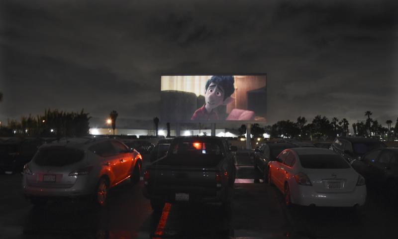 Virus Outbreak Drive-In Theatres