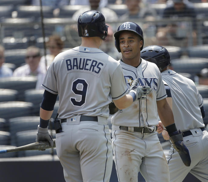 Yanks Load Bases In 9th, But Rays Rookie Escapes For 3-1 Win