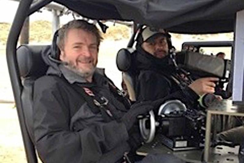 Mark Milsome (left) was killed while filming in Ghana: PA