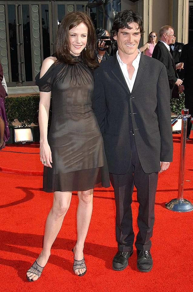 """You know her now as Nancy Botwin, the suburban-mom-turned-drug-dealer on """"Weeds,"""" but there was a time when Mary-Louise Parker was better known as that actress who was dating the rock star from """"Almost Famous."""" MLP and Billy Crudup met while working on the Broadway play """"Bus Stop"""" in 1996, and eight years later had a son, William. But while Parker was preggo, Crudup was out casting a new leading lady ... Gregg DeGuire/<a href=""""http://www.wireimage.com"""" target=""""new"""">WireImage.com</a> - March 9, 2003"""