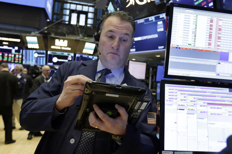 Markets Right Now: After a day of wobbling, indexes end down