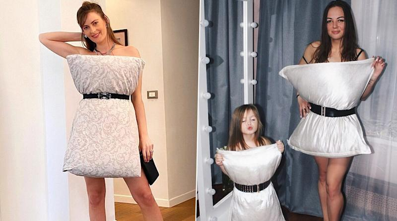 Miss Posting OOTD? Take #QuarantinePillowChallenge on Instagram Just Like These Netizens Who Are Turning Pillows Into Chic Outfits (View Pics)
