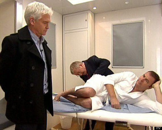 'This Morning' has never shied away from tackling usually embarrassing health issues, and Paul Ross braved a rectal examination to help raise awareness of prostate cancer.
