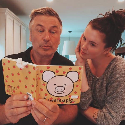 "<p>Alec Baldwin's older daughter, Ireland, poked fun at his ""rude, thoughtless little pig"" voicemail with a throwback pic and message. ""I love you. I always have and I always will,"" wrote the model, whose mom is Kim Basinger. ""You're unique. You're strong. You're by far the funniest person I've ever known or will ever know and you make me so proud to be related to you. Thank you for all that you've ever taught me. You're the best dad to me, Carmen, Rafa and Leo and I can't wait for them to grow up and share the same beautiful memories with you as I do. I love you and thank you for always lifting me up and helping me figure out who I am! Happy Father's Day … from your little piggy girl."" (Photo: Ireland Baldwin via Instagram) </p>"