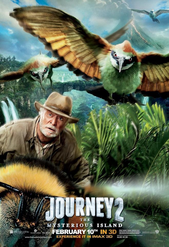 <b>The Worst: JOURNEY 2: THE MYSTERIOUS ISLAND</b><br><br>Michael Caine. Riding a bumblebee. Chased giant birds. Let's just think about that for a moment. The look on Sir Michael's face sort of says it all.
