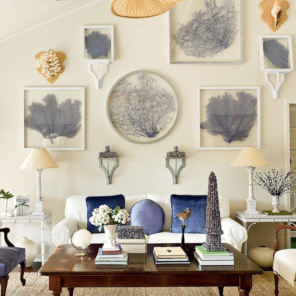16 creative gallery wall ideas for Living room channel 9