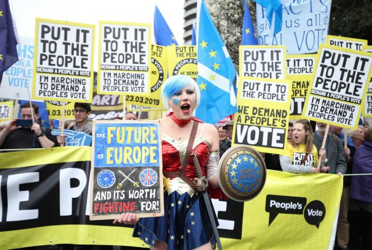 Brexit march: '1 million' Put It To The People protesters stage historic rally for a second referendum