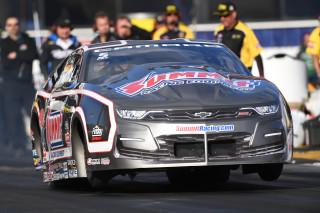 Pro Stock driver Jason Line in action during the 2019 season. Photo: NHRA