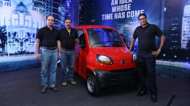 The petrol variant of Bajaj Qute gets a 216.6 cc, four-stroke, twin spark ignition, single cylinder, liquid-cooled engine that produces 13 bhp and 18.9 Nm of torque.